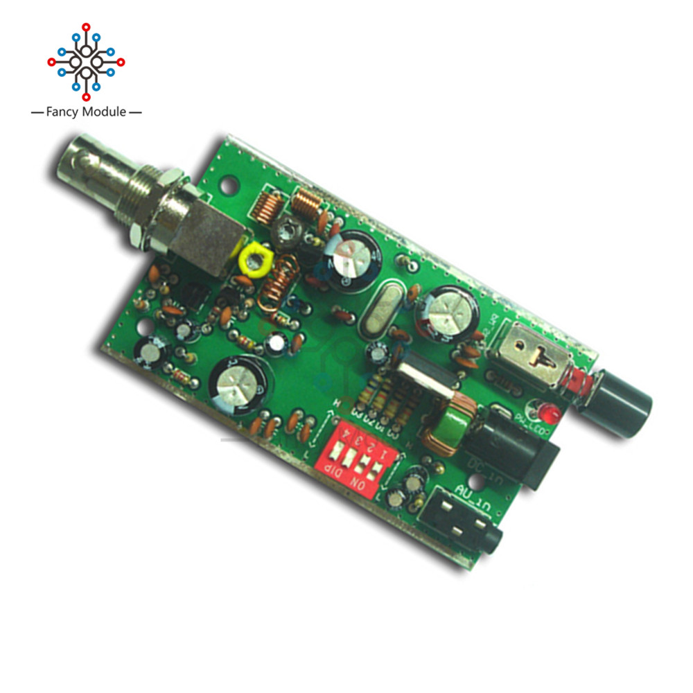 Bh1417f Fm Radio Transmitter Module 5v 12v Pll Stereo Digital Tracking Schematics 3 2 1 4 5 6
