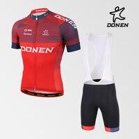 DONEN Sıcak Satış Ekibi Sportwear Bisiklet setleri MTB Bisiklet Giyim Iç Çamaşırı Ropa Ciclismo Dağ Bisikleti giyim Drop Shipping