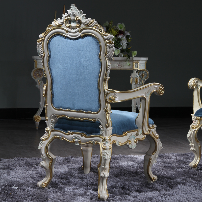 antique hand carved furniture baroque handcraft dining room chair-in Dining  Chairs from Furniture on Aliexpress.com | Alibaba Group - Antique Hand Carved Furniture Baroque Handcraft Dining Room Chair