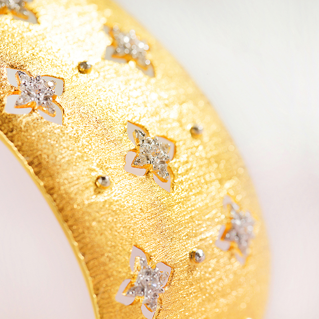 Silver Zircon European Court Style Bracelet