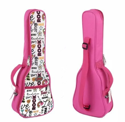 concert-soprano-ukulele-small-acoustic-guitar-bag-case-thick-package-21-23-26-inches-Lanikai-Luna