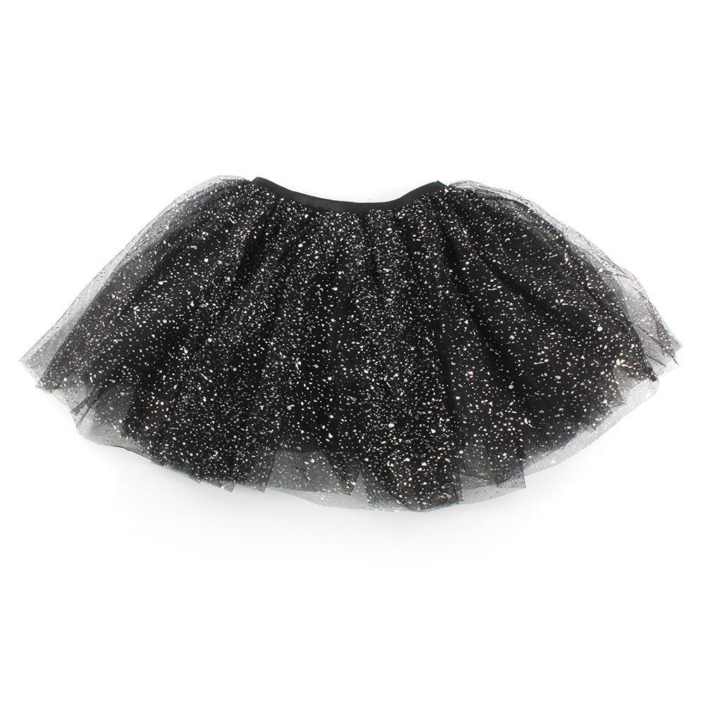 2018 New Lovely Kids Girls Princess Short Tutu Skirt Bling Tulle Party Ballet Dance Skirt mesh ballet light up cosplay party skirt