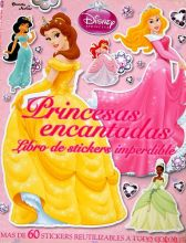 Parent child kids baby Disney story princess girl lovely picture Sticker book French learning book Age 2 - 12(China)