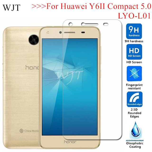 US $1 43 28% OFF|LYO L01 cover Tempered Glass For Huawei Y6 II Y6II Compact  5 0 LYO L01 L21 Protective Screen Protector CUN L21 honor 5 CUN AL00-in