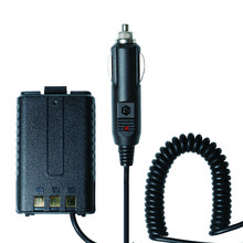 Baofeng Battery Eliminator Car charger For Baofeng UV-5R UV-5RE UV-5RA Portable Radios Walkie Talkie Two Way Radio(China)