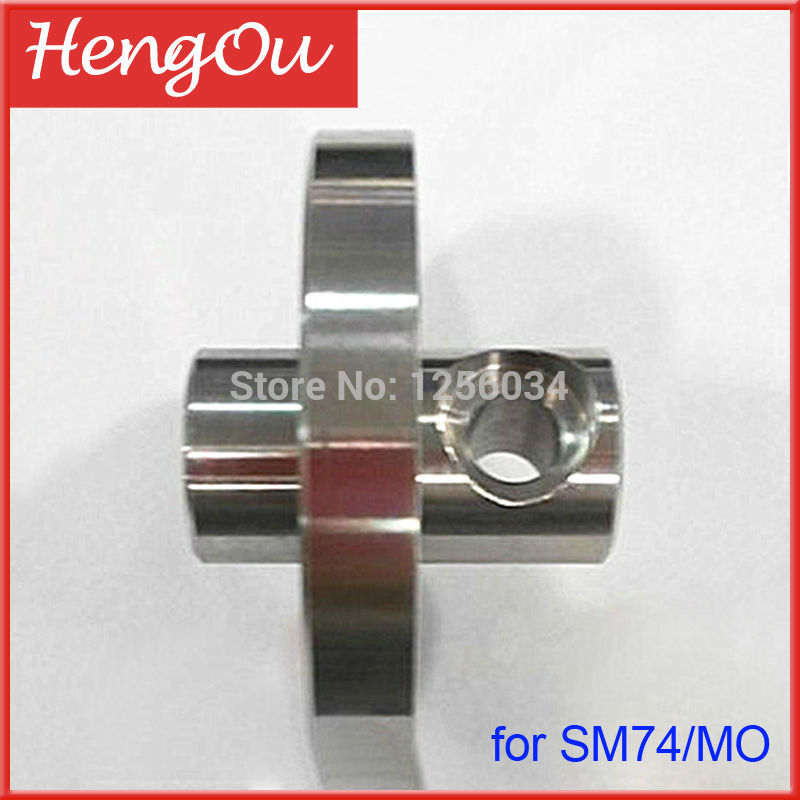 1 piece Heidelberg SM74/MO water roller head, Stainless steel shaft head, spare parts for heidelberg SM74 heidelberg sm74 timing belt
