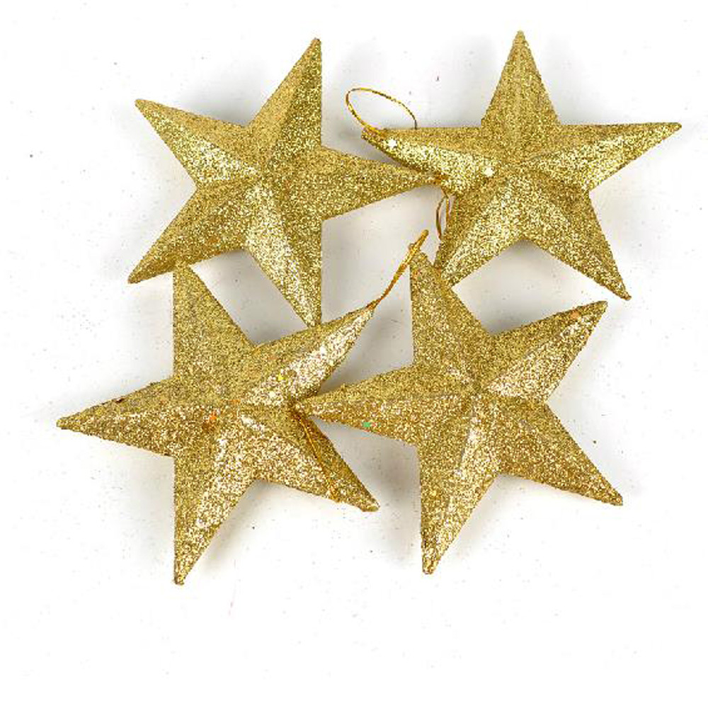 Christmas tree star decorations for Star home decorations