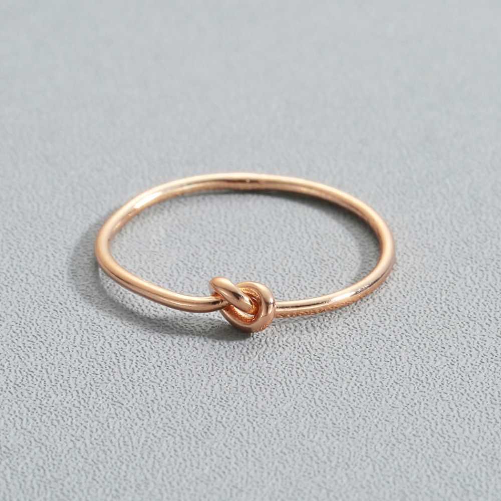 Anéis para noivas kinitiais, joias de promessa para casais, amor, noivado, coração