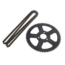 1 Pcs 25H 68 Links Chain Spare Master Link With 68 Tooth Rear Sprocket For 47cc 49cc Mini Dirt ATV Motor Pocket Bike Motocross vortex 425zr 46 red 46 tooth rear sprocket