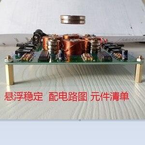 Image 3 - Комплект магнитной левитации «сделай сам», герметичный комплект магнитной левитации (детали), интеллектуальная аналоговая схема, 2019