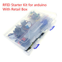 Free Shipping NEWEST RFID Starter Kit For Arduino UNO R3 Upgraded Version Learning Suite With Retail