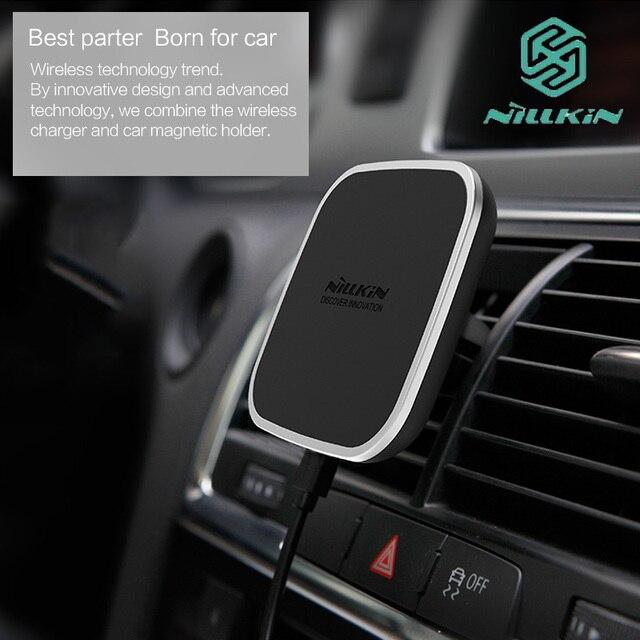 Nillkin Car магнитная Qi беспроводной зарядки держатель Air Vent