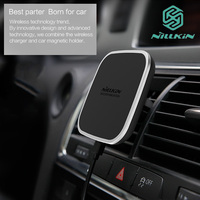 Nillkin Car Magnetic Wireless Charging Holder Air Vent Mount Pad For Samsung S7 Edge Note 8