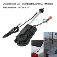 Uniwersalny Auto Car Moc Elektryczna Antena AM FM Radio Antena Maszt Antenowy 12 V Samochodów SUV Zestaw akcesoriów samochodowych