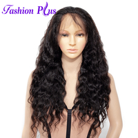 Full Lace Human Hair Wigs With Baby Hair Wigs For Women Brazilian Virgin hair Full Lace Wigs Loose Wave Curly Human Hair Wig