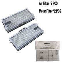 2 Set SF HA 50 Für Miele HEPA filter S4 S5 S6 S8 S8000 S8999 S6000 S5000 S5999 S4000 S4999 completeC2 C3 Kompakte C1 C2 filter