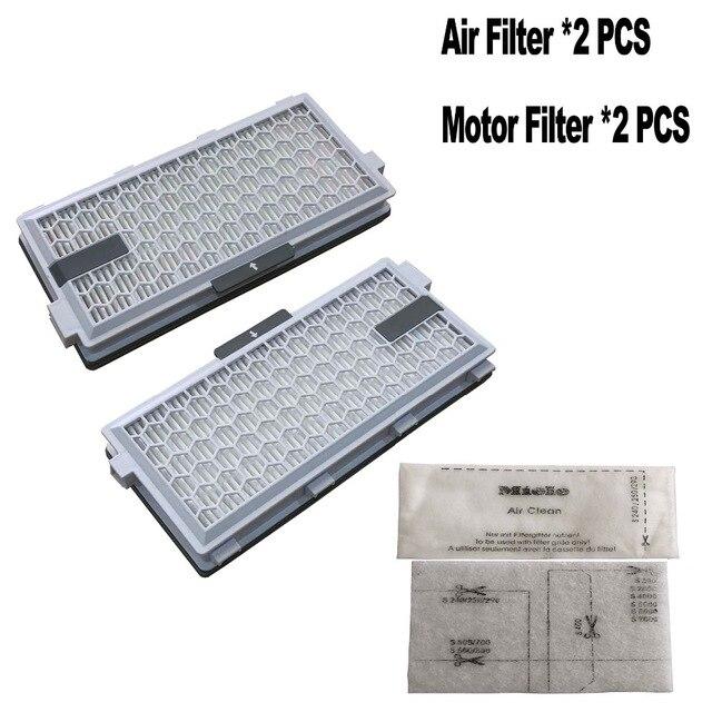 2 Set SF HA 50 Per Miele filtro HEPA S4 S5 S6 S8 S8000 S8999 S6000 S5000 S5999 S4000 S4999 completeC2 C3 Compatto C1 C2 filtro