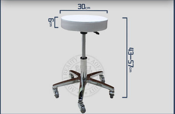 Swivel Chair Lift Chair Stool Sliding Wheelchair Makeup Stool Beauty Stool Master Stool. Hairdressing Chair