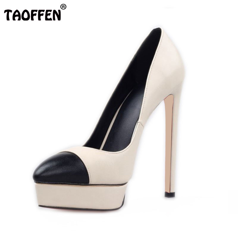 Size 35-42 Women's Platform High Heel Shoes Stiletto Brand Quality Heeled Pumps Ladies Fashion Sexy Gladiator Shoes R08750 size 35 42 women s platform high heel shoes stiletto brand quality heeled pumps ladies fashion sexy gladiator shoes r08753