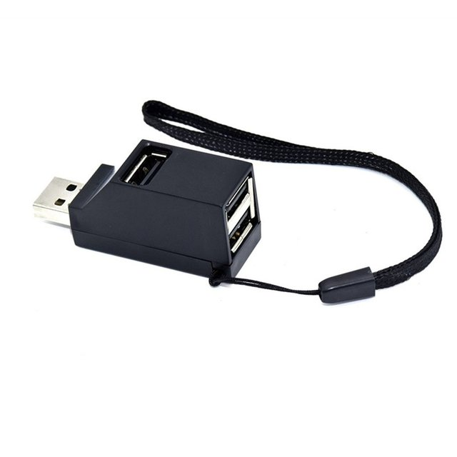Mini USB 2.0/3.0 Hi-Tốc Độ Đa Port USB Hub Splitter Hub Adapter Đối Với Máy Tính PC Cho Di Động Ổ Đĩa cứng