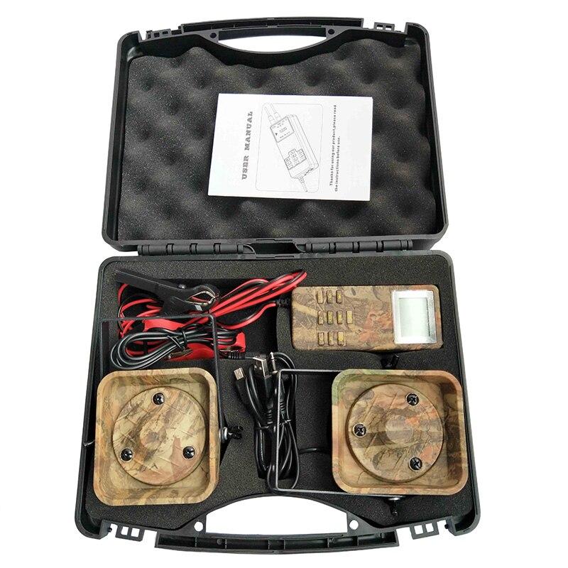 Leurre chasse Mp3 oiseau appelant sons lecteur intégré 200 oiseau voix chasse leurre 2 joueurs 50 W Animal appelant pour la chasse