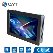 widescreen 12 inch touch panel PC Intel i5 3337U 1.8GHz 1280×800 2GRAM 32G SSD Win7/8/10 Aluminum shell embedded installation