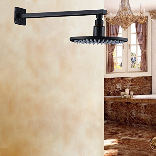 Wall Mount Shower Arm + 8