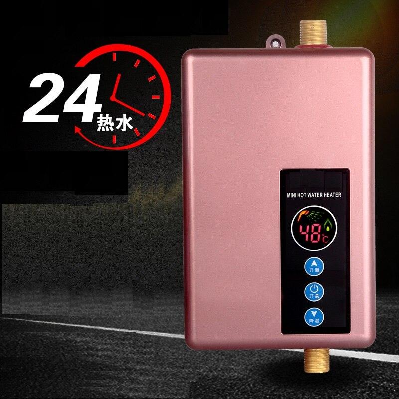 Instant Tankless Elektrische Wasser Heizung Wasserhahn Küche Instant Heizung Tap Wasser Heizung Elegante Form Aldxy67-xy-a08 Elektrische Warmwasserbereiter