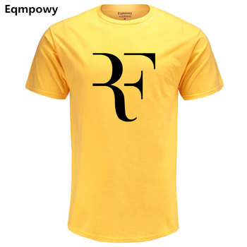 RF Print T-Shirt Men Short Sleeve Tshirts