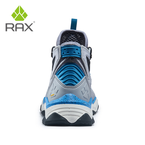Image 4 - RAX Men  Professional Hiking Shoes Boots Outdoor Climbing Boots for Mountain Camping Sneakers for Men Trekking Boots Big Size