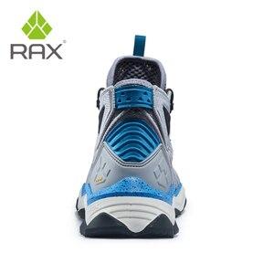 Image 4 - RAX גברים מקצועי נעלי הליכה מגפיים חיצוני מגפי טיפוס הרים קמפינג סניקרס לגברים טרקים מגפי גדול גודל