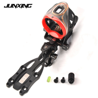 Archery Junxing 5550 Bow Sight Kits Accessory Tools Compound Bow Accessories Adjustable Sight Left and Right Hand Universal