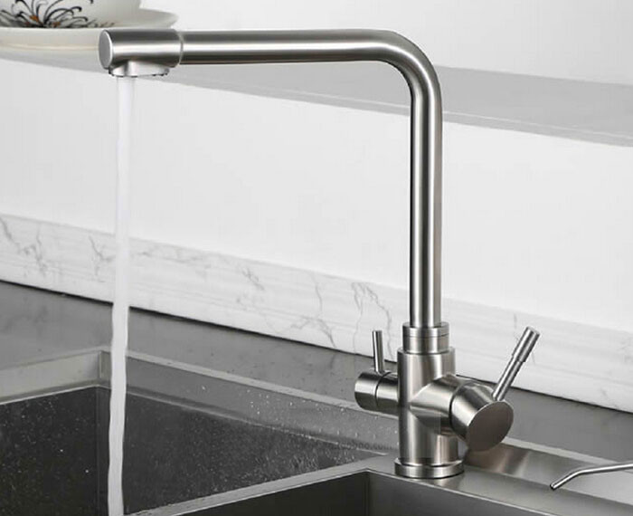 kitchen faucet with filtered water stainless steel faucet mixer tap drinking faucet Kitchen sink tap torneira para cozinha 099