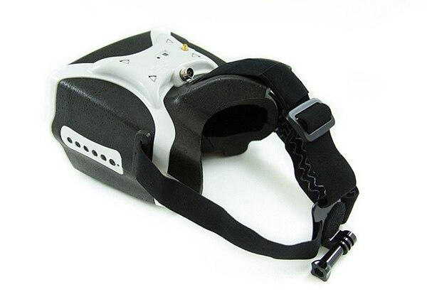 Headplay 1280x800 5.8G 40CH récepteur FPV lunettes/lunettes vidéo prise en charge HDMI entrée-couleur blanc/rouge