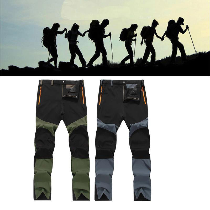 New Unique Mens Snowboard Pants Waterproof Trousers Thin Full Length Pants