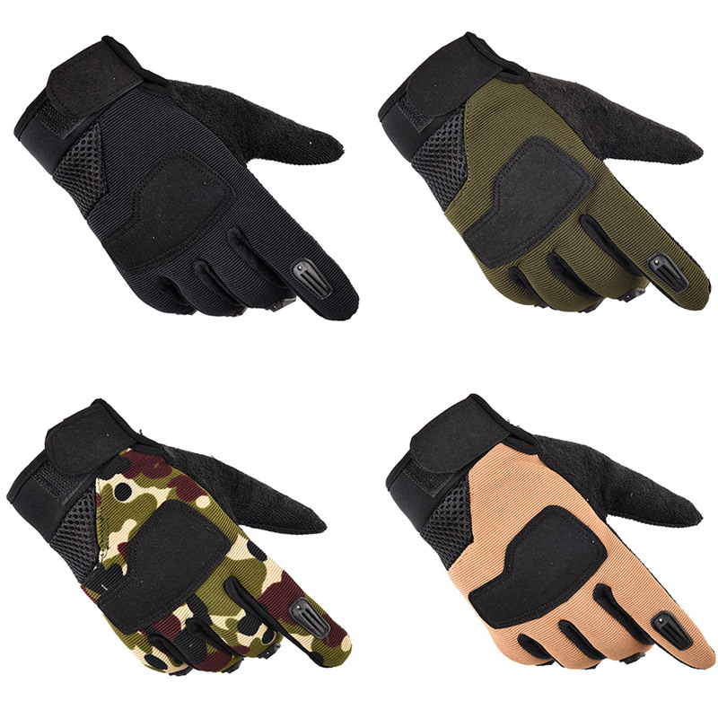 Tactical Army Cycling Gloves Full Finger Winter Warm Bike Gloves Camping Hiking Outdoor Sports Anti-slip Glove