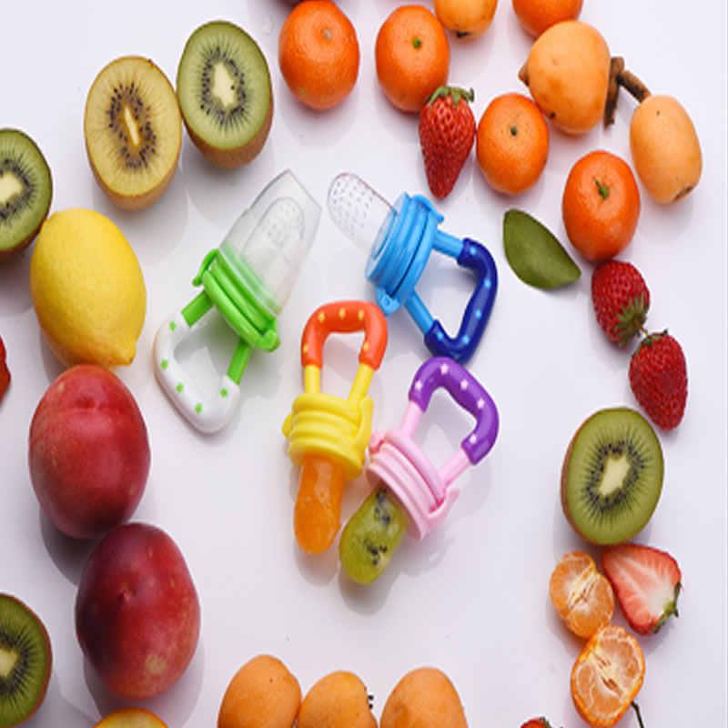 Alimentador de alimentos frescos para bebé chupete alimentador de fruta para niños chupete de alimentación productos de seguridad para bebés botella de pezón
