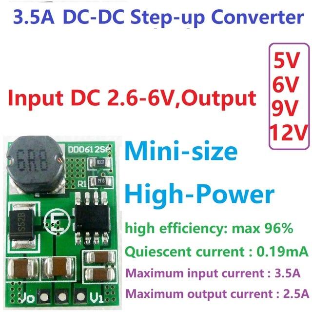 5 pcs 1,5 A iout = max 1,2 V Régulateur de tension Convertisseur de tension Vin = 4,55-18v