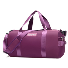 Dry&Wet Separated Men Training Bags Large Capacity Short Trip Women Travel Bags Portable With Shoe Position Female Yoga Tote bag