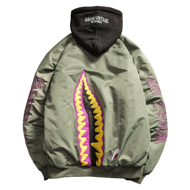 MA-1 Motorcycle Jacket Embroidery Men