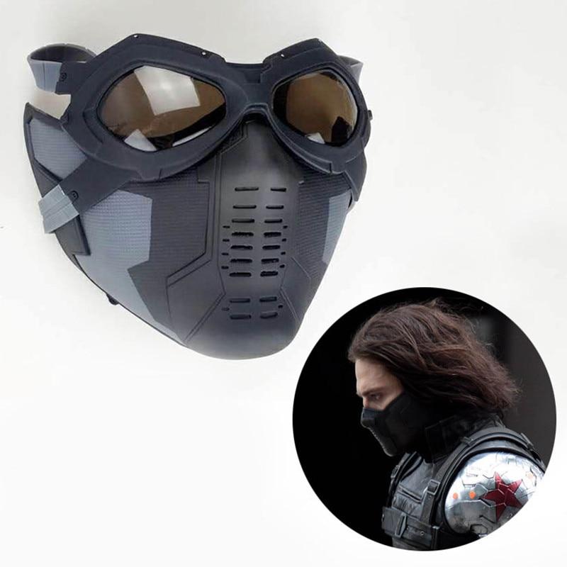Achetez en gros hiver soldat masque en ligne des grossistes hiver soldat masque chinois - Masque de captain america ...