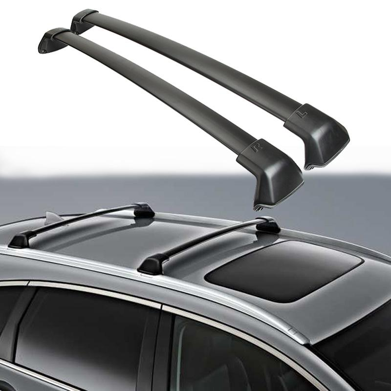 A Pair Black Aluminum Car Font B Roof B Font Font B Rack B Font Cross