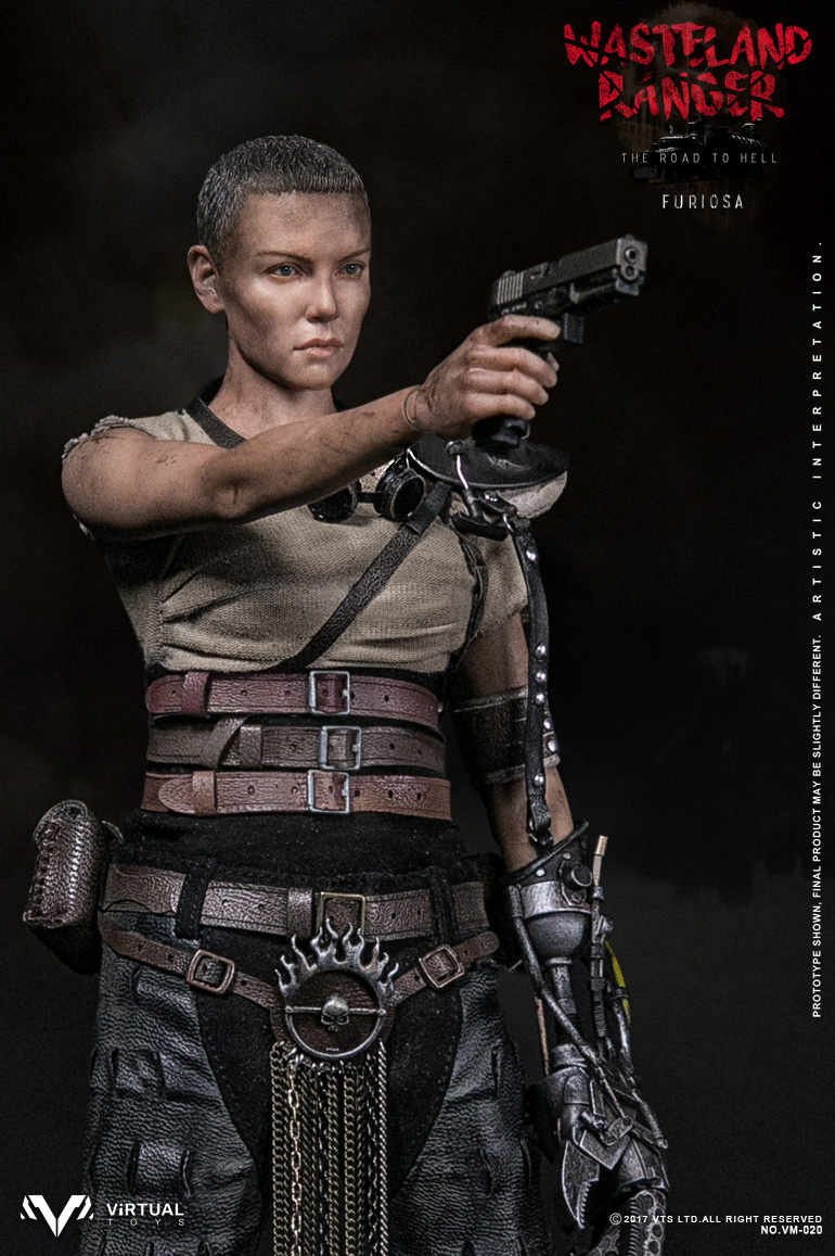 """1/6 Scale Collectible Figure Mad Max 4 Charlize Theron Wasteland Ranger Furiosa 12"""" Action Figure Doll Plastic Model Toys To Win Warm Praise From Customers"""