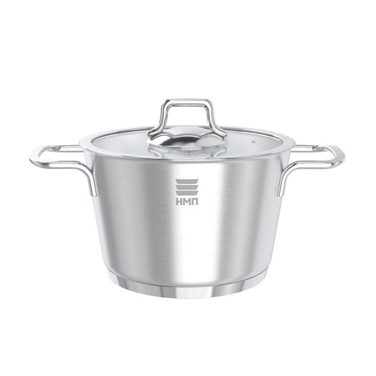 Кастрюля Нева металл посуда, АЛМАЗ, 4 л кастрюля жаровня нева металл посуда горячий шоколад с крышкой сковородой 3 5 л