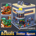 2016 Calle LEPIN 15015 5003 unids City Creator El Museo de Dinosaurios Kits de Edificio Modelo Bloques Ladrillos Compatibles Juguetes Para Niños de Regalos
