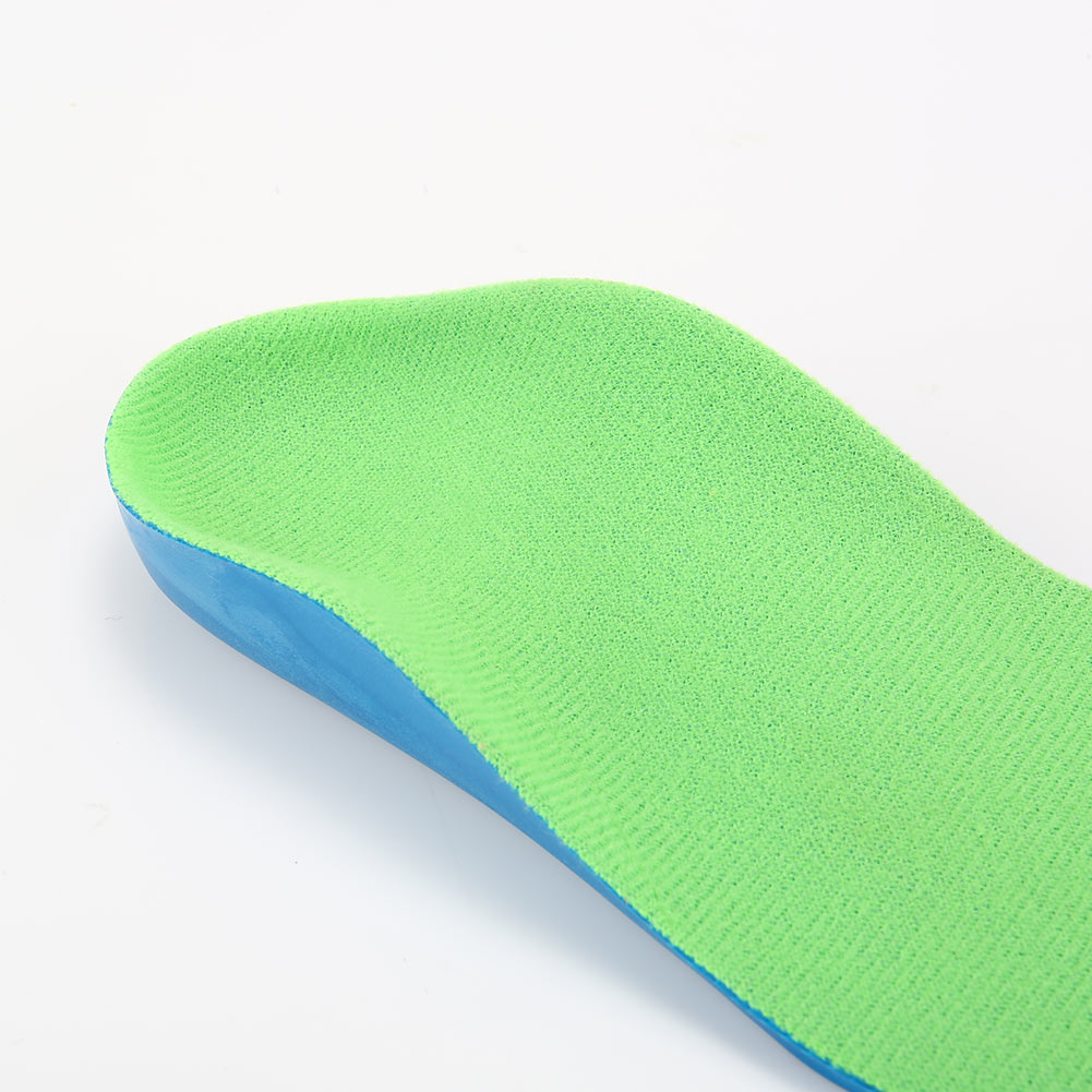 1 Pair Children Insoles Orthotics Soft Breathable Feet Care Tool Kid Shoes Flat Foot Arch Support Correction Pads Insert NSV775