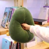 Avocat Fruits peluche plante jouets Kawaii dessin animé mignon peluche poupée coussin garçons filles Anti Stress coussin oreiller pour enfants enfants
