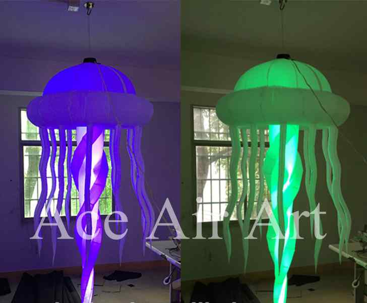 Fashion Lighting Balloon Led Inflatable Jellyfish For Party  Decoration(China (Mainland))