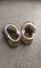 Crochet Baby Flip Flops, Crochet Baby Shoes first walker shoes