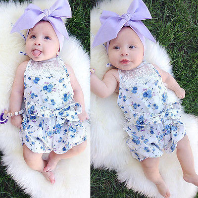 Ruffled Flower Baby Rompers Girl Baby Costumes Set Kids Jumpsuit Lace Romper Baby Overalls Infant Toddler Bowknot Jumpsuits newborn baby rompers baby clothing 100% cotton infant jumpsuit ropa bebe long sleeve girl boys rompers costumes baby romper